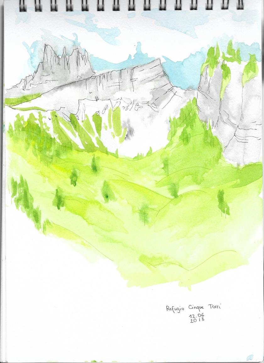 Dolomites-CinqueTorri